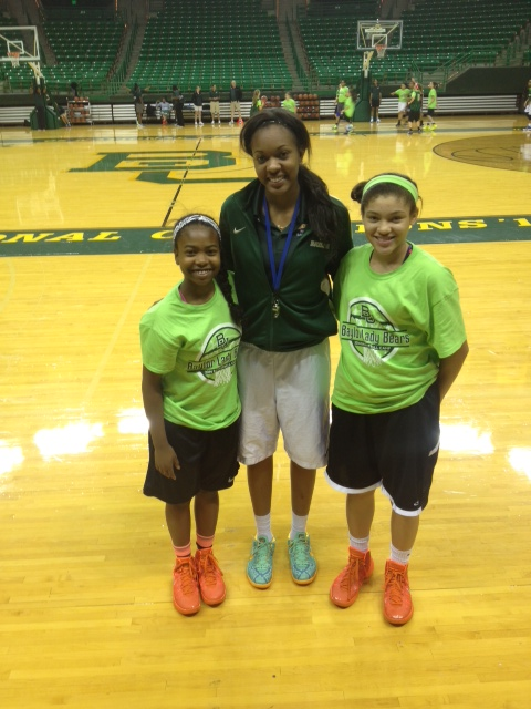 Micayla & Little Queens - Baylor Camp